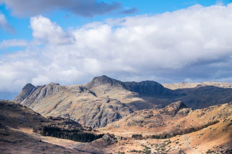 Paisaje de Cumbrian foto de archivo libre de regalías