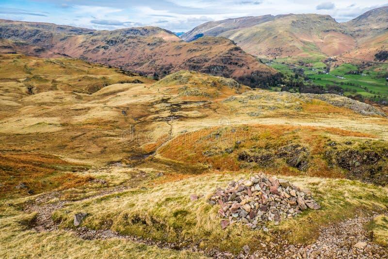 Paisaje de Cumbrian imagenes de archivo