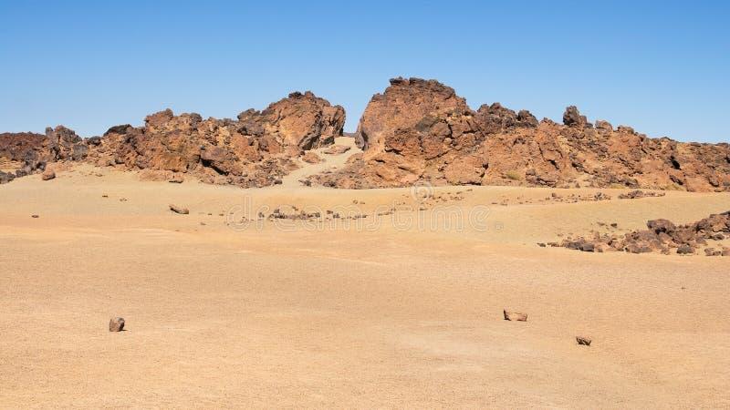 Paisaje de Desertic imagen de archivo