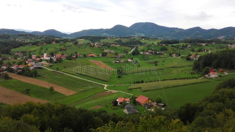 Paisaje de Eslovenia imágenes de archivo libres de regalías
