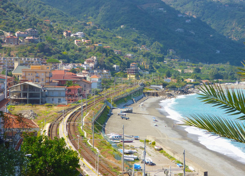 Paisaje de Gioiosa Marea en Sicilia fotos de archivo libres de regalías