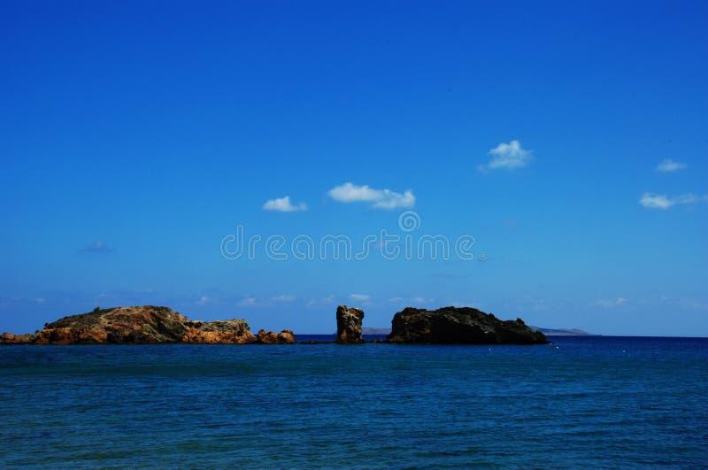 Paisaje de Grecia fotografía de archivo