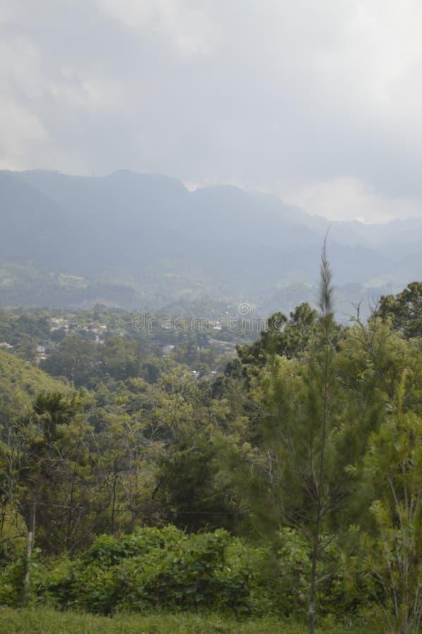 Paisaje de Gwatemala zdjęcia stock
