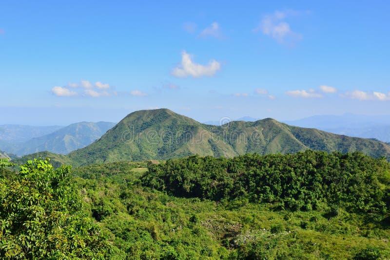 Paisaje de Haití foto de archivo