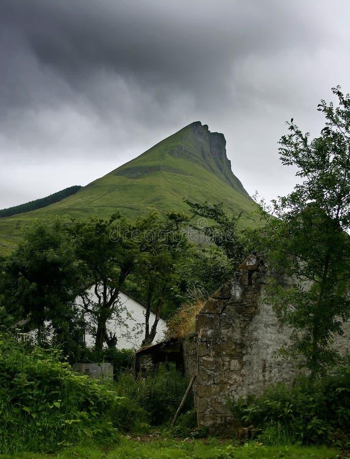 Paisaje de Irisch fotografía de archivo libre de regalías