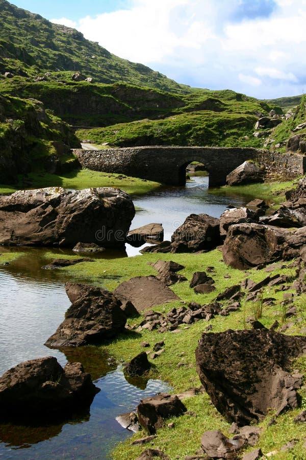 Paisaje de Irlanda (sima de Dunlue) imagen de archivo libre de regalías