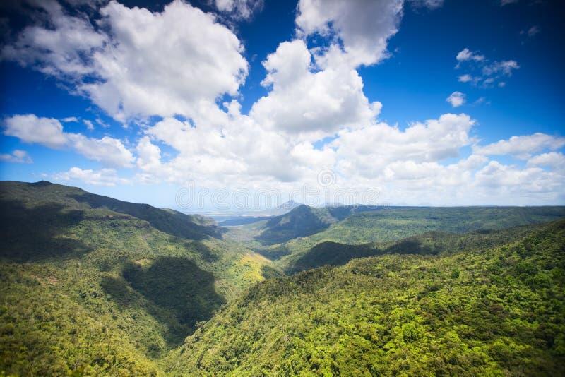Paisaje de Isla Mauricio foto de archivo libre de regalías