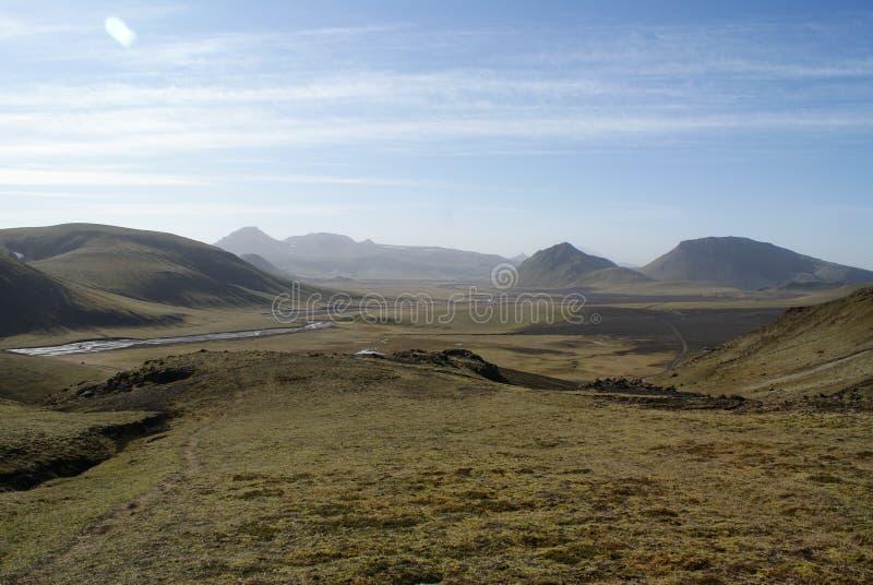Paisaje de Islandia fotografía de archivo libre de regalías