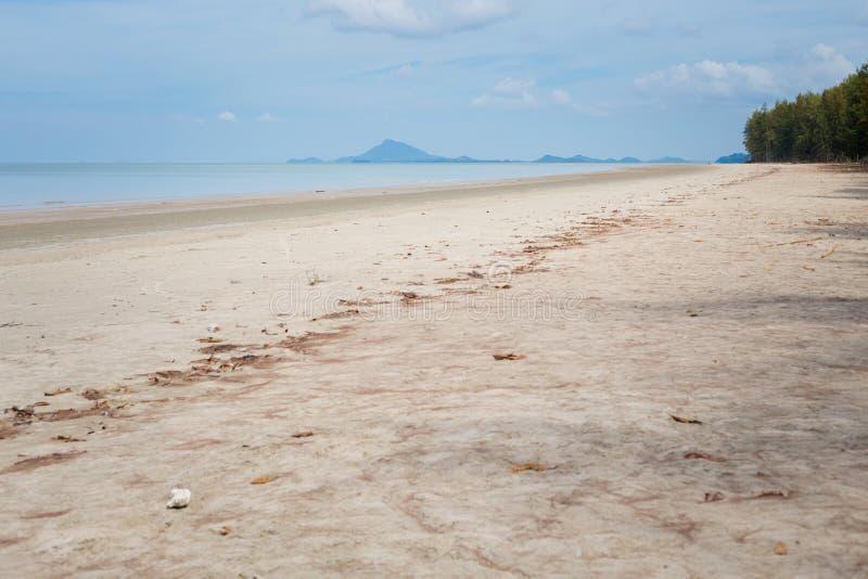 Paisaje de Koh Lanta Noi foto de archivo