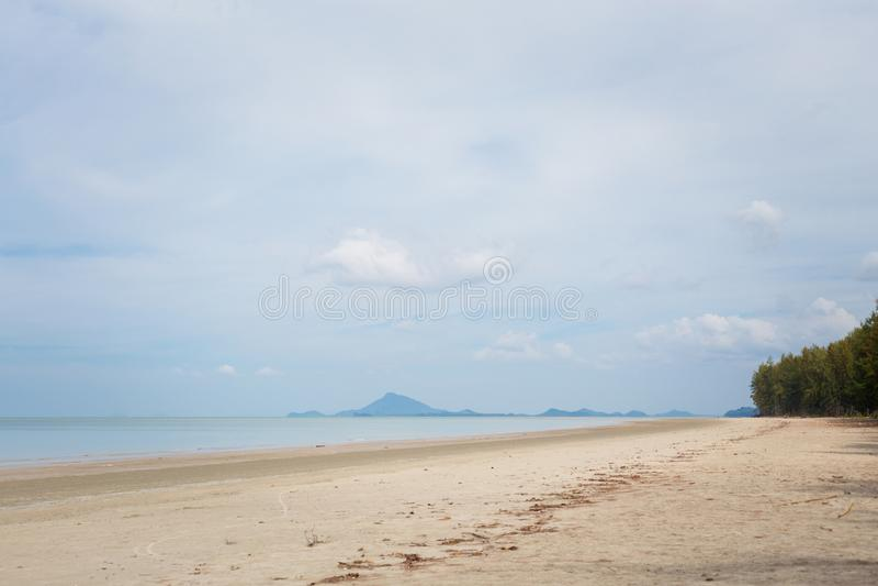 Paisaje de Koh Lanta Noi fotos de archivo libres de regalías