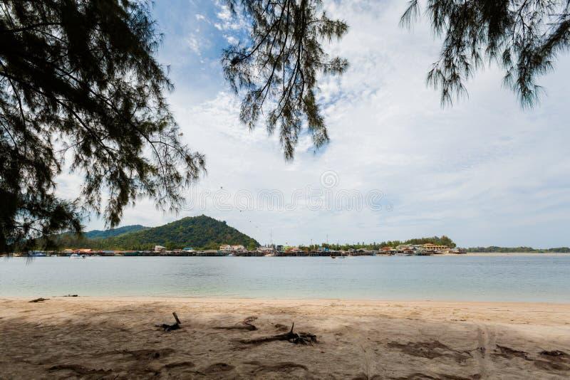 Paisaje de Koh Lanta Noi fotografía de archivo