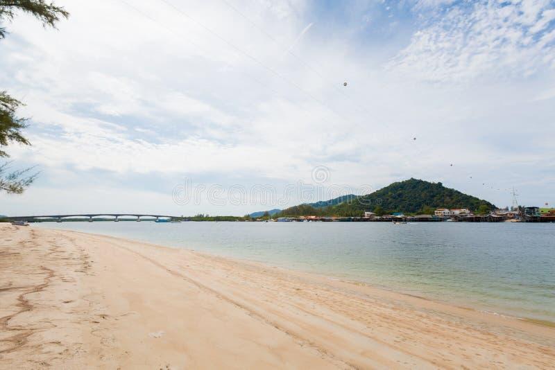 Paisaje de Koh Lanta Noi fotos de archivo