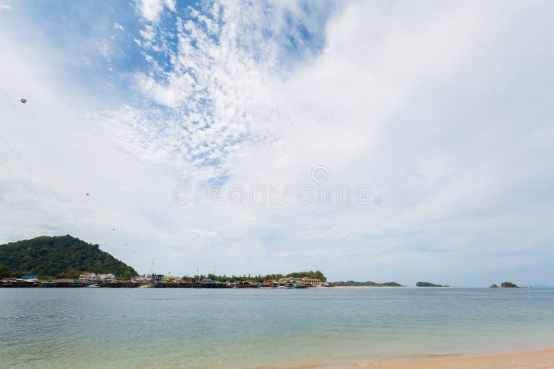 Paisaje de Koh Lanta Noi imagenes de archivo