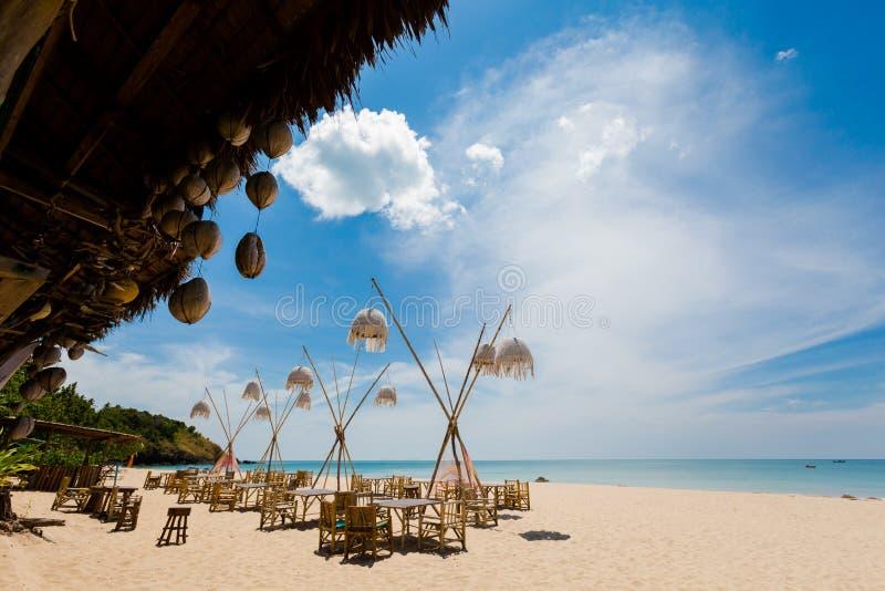 Paisaje de la bahía de Koh Lanta Klong Jark foto de archivo