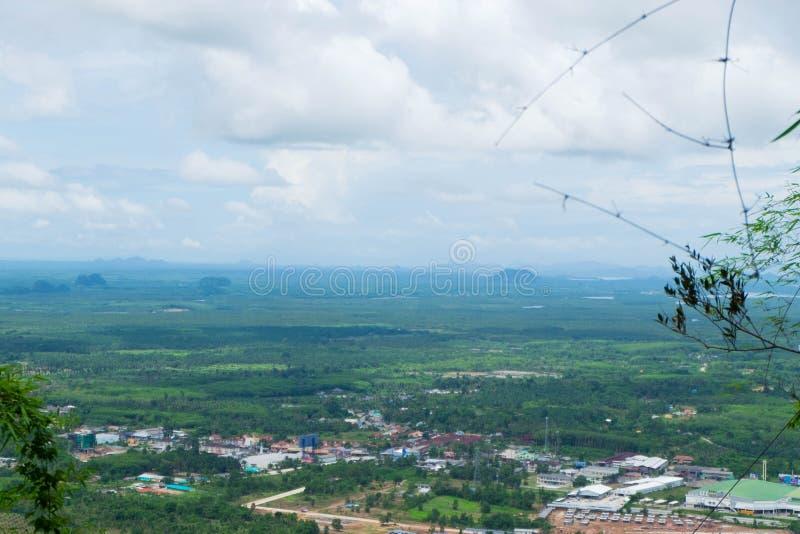 Paisaje de la captura natural de la visión en la montaña en TAILANDIA imágenes de archivo libres de regalías