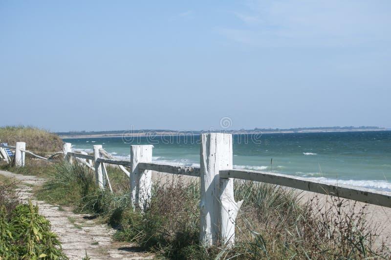 Paisaje de la costa costa del verano imágenes de archivo libres de regalías