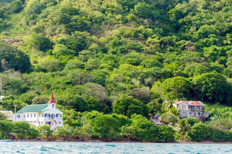 Paisaje de la isla imagenes de archivo