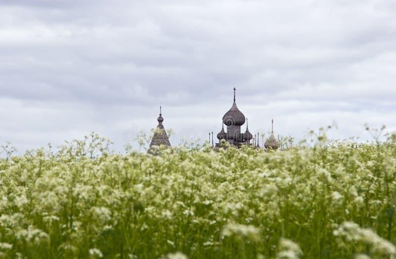 Paisaje de la isla de Kizhi fotografía de archivo libre de regalías