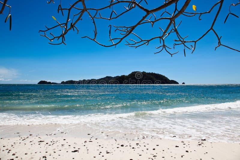Paisaje de la isla de la playa fotos de archivo libres de regalías