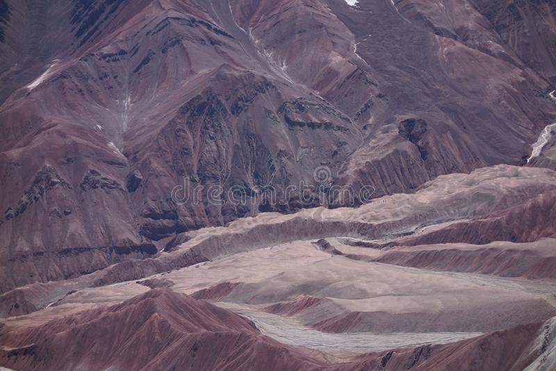 Paisaje de la montaña. El tejado del mundo fotos de archivo libres de regalías