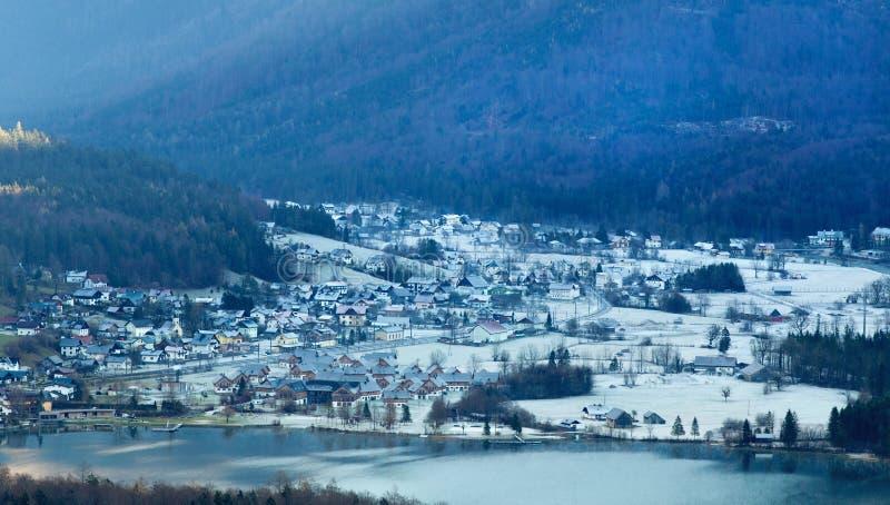 Paisaje de la montaña en Austria fotografía de archivo libre de regalías