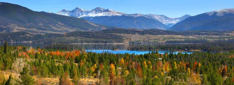 Paisaje de la montaña en Colorado imagen de archivo libre de regalías