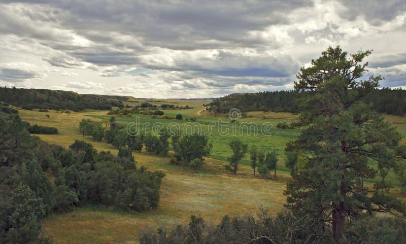 Paisaje de la montaña en Colorado Rocky Mountains fotografía de archivo libre de regalías