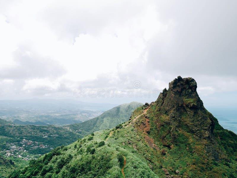 Paisaje de la montaña de la tetera, Taiwán imagen de archivo libre de regalías