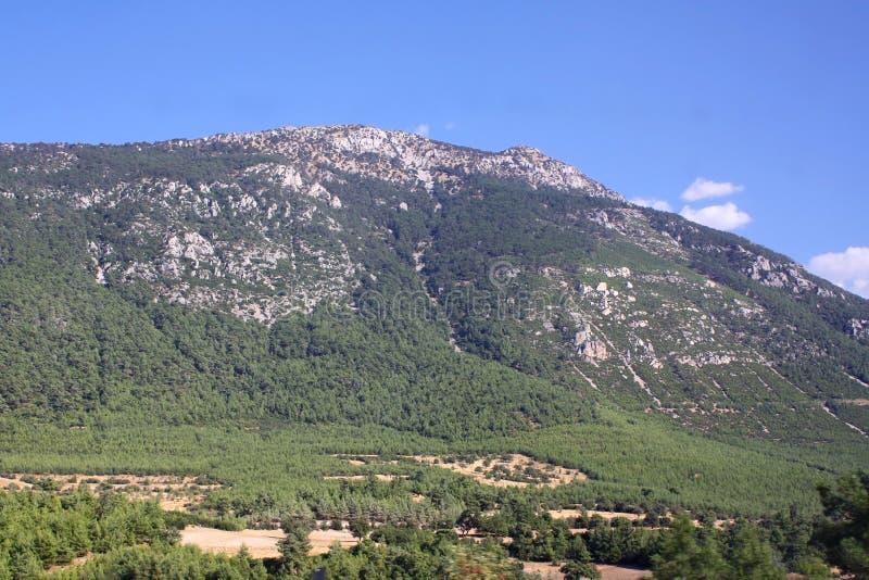 Paisaje de la montaña. Turquía fotografía de archivo