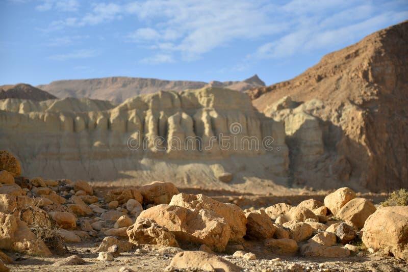 Paisaje de la monta?a del desierto fotos de archivo