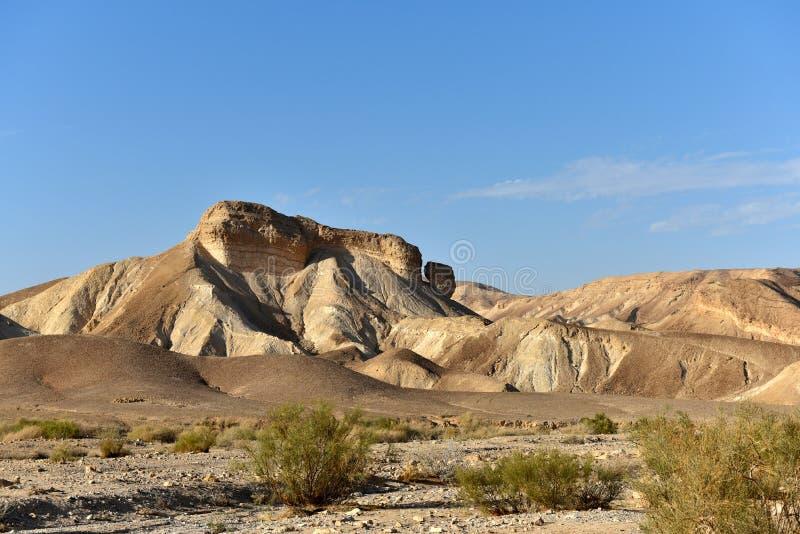 Paisaje de la monta?a del desierto foto de archivo libre de regalías