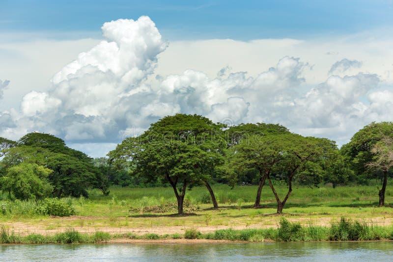 Paisaje de la naturaleza de Kanchanaburi foto de archivo