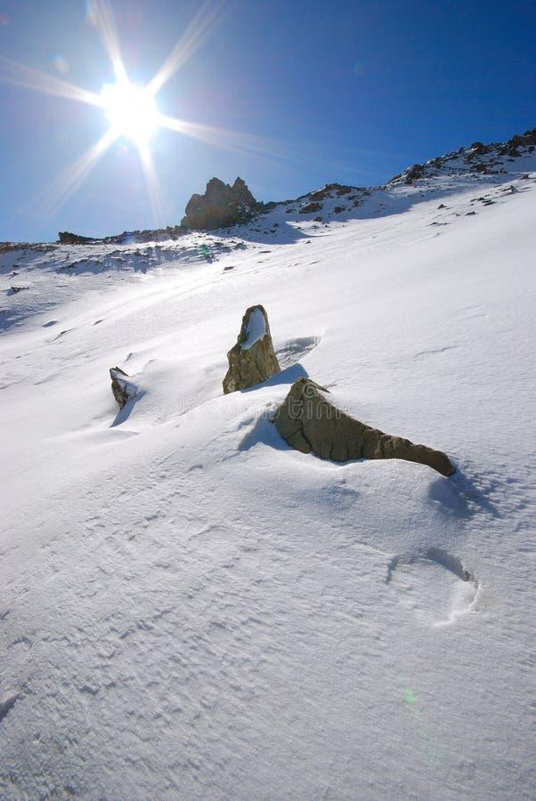 Download Paisaje de la nieve foto de archivo. Imagen de cortina - 7281694