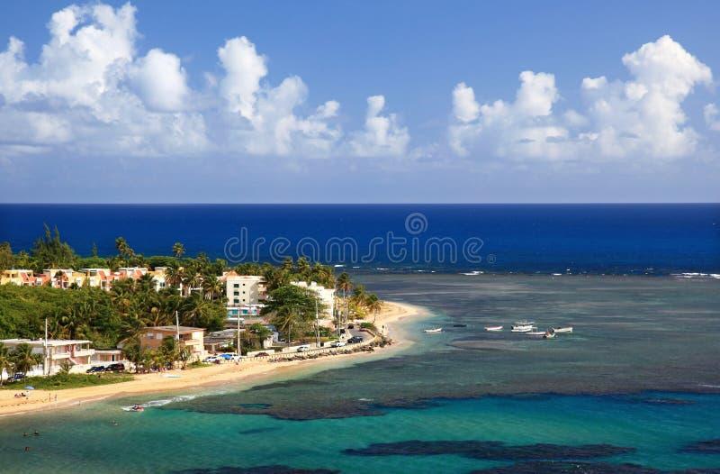 Paisaje de la playa foto de archivo