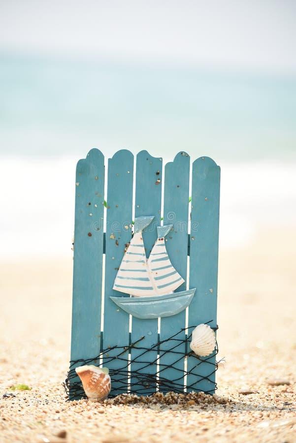 Paisaje de la playa del mar E imágenes de archivo libres de regalías