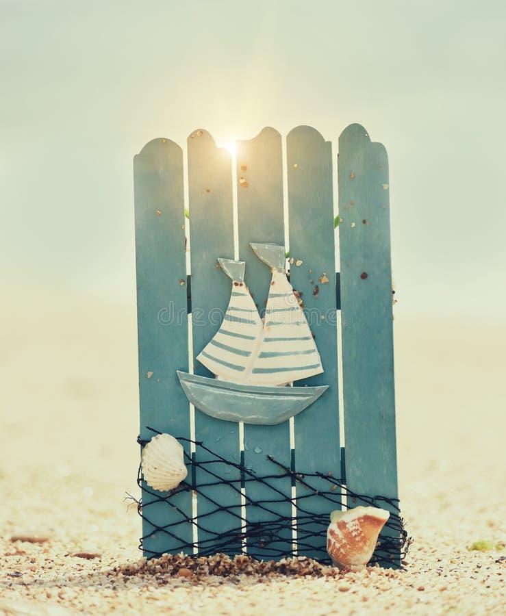 Paisaje de la playa del mar fotos de archivo libres de regalías