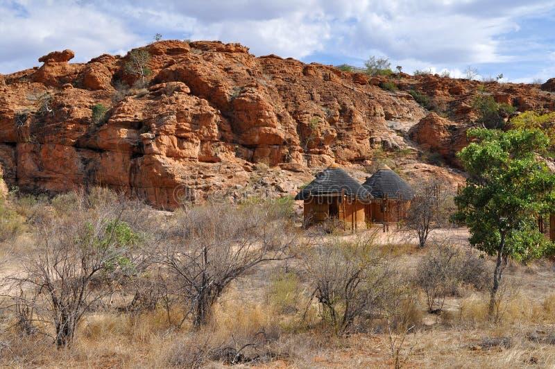Paisaje de la reserva de naturaleza de Mapungubwe, Afri del sur fotografía de archivo libre de regalías