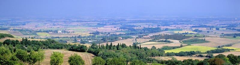 Paisaje de Languedoc imagenes de archivo