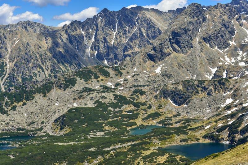 Paisaje de las montañas de Tatra, Zakopane, Polonia imágenes de archivo libres de regalías
