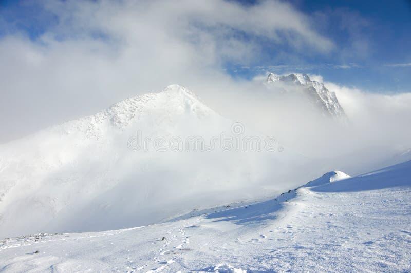 Paisaje de las montañas Nevado fotografía de archivo