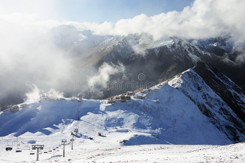 Paisaje de las montañas Nevado imagen de archivo