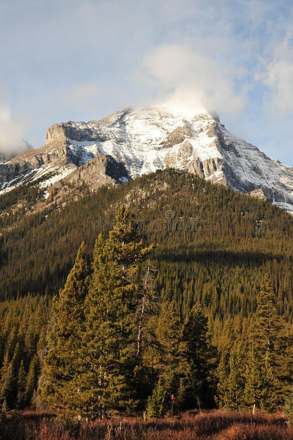Paisaje de las montañas rocosas imágenes de archivo libres de regalías