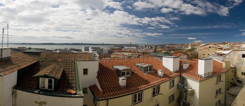 Paisaje de Lisboa, Portugal imagenes de archivo