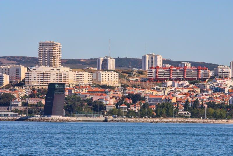 Paisaje de Lisboa, Portugal. imagen de archivo