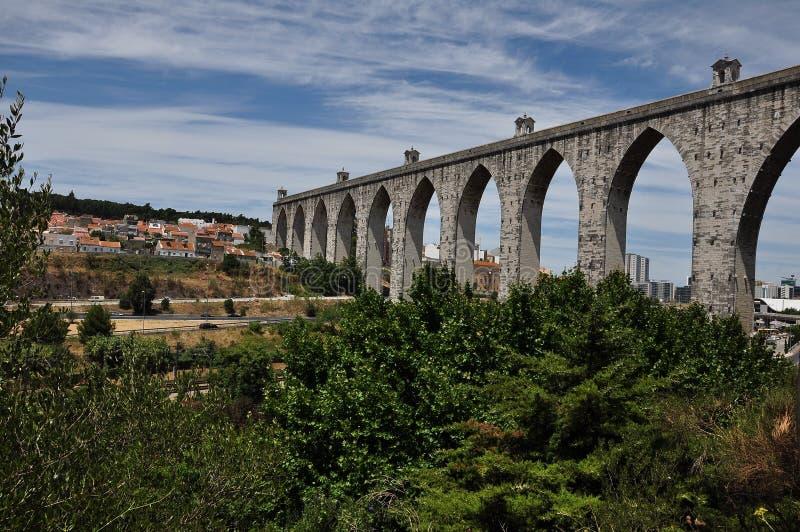 Paisaje de Lisboa, Portugal fotografía de archivo libre de regalías
