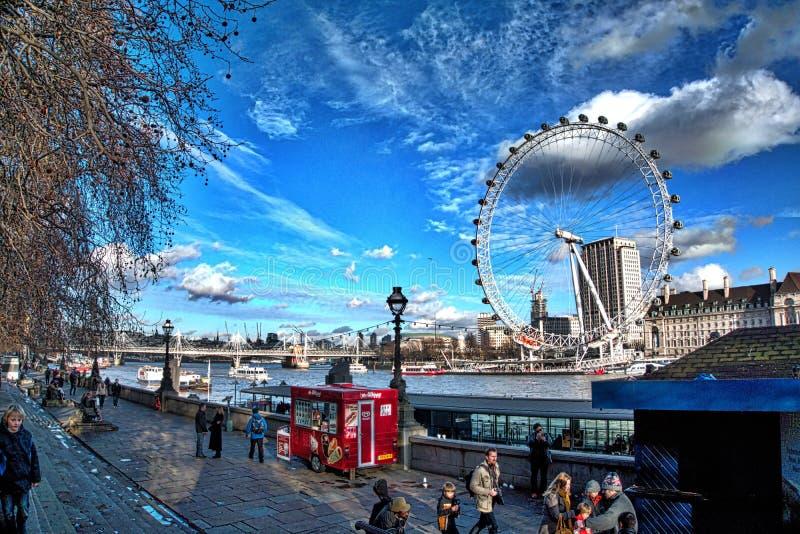 Paisaje de Londres foto de archivo
