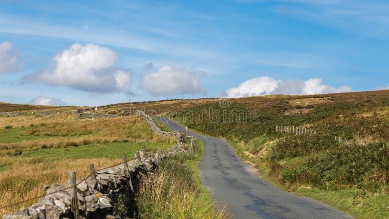 Paisaje de los valles de Yorkshire foto de archivo libre de regalías