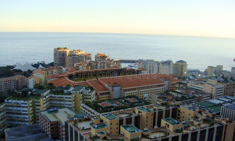 Paisaje de Mónaco imagen de archivo