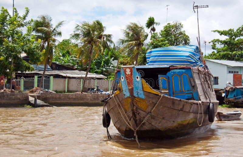Paisaje de Mekong del río imagen de archivo