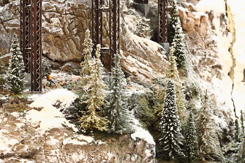 Paisaje de Mountainsied foto de archivo